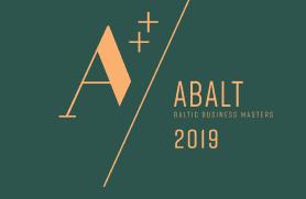 Sertifikatas ABALT 2019